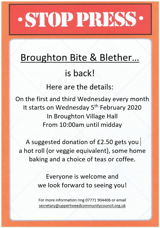 Broughton Bite & Blether